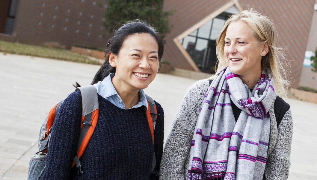 A SIU-survey shows that international students are very satisfied with the quality of study programmes. (Photo: Ingvild M. Festervoll/SIU)