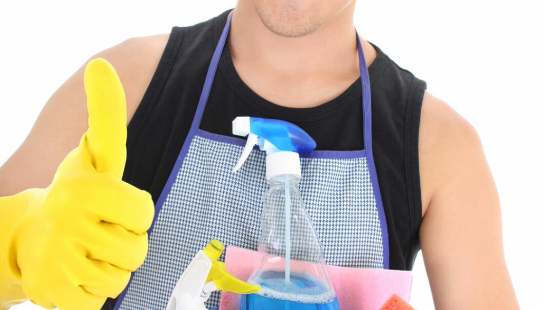 Sharing the domestic work equally is getting more common. (Photo: Colourbox)