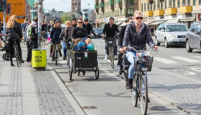 Cycle like the Scandinavians for a healthier society