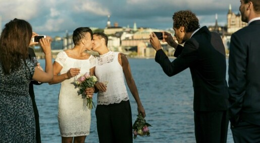 Same-sex marriages are on the rise in Norway