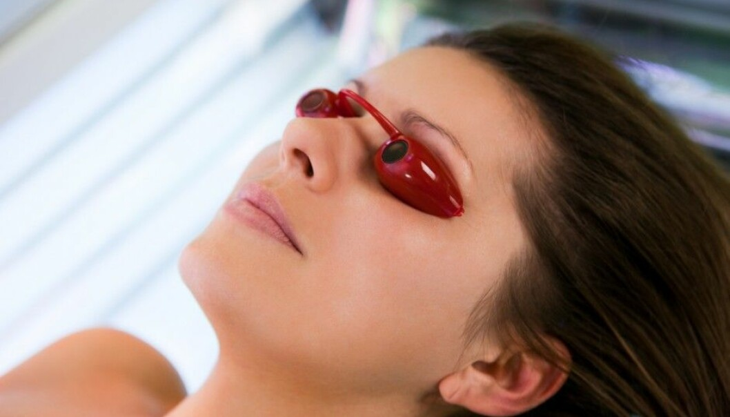 The risks of melanoma skin cancers increases all the more if a person uses solariums or sunbeds from a tender age. (Photo: Shutterstock/NTB scanpix)