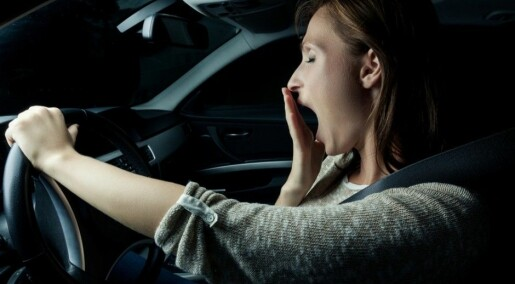 What makes us tired in a car if other passengers are sleeping?