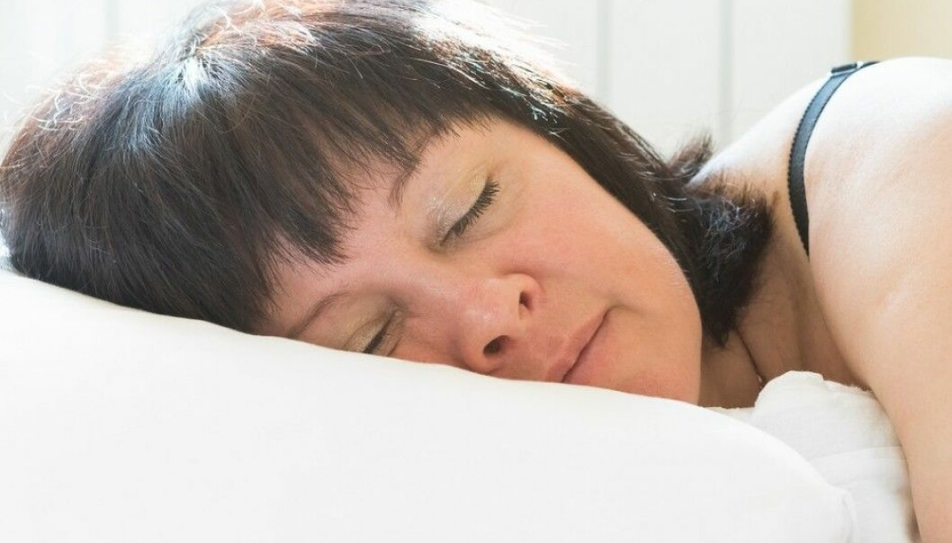Women generally prefer to sleep on their right side – in a cold bedroom. (Illustrative photo: Shutterstock / NTB scanpix)