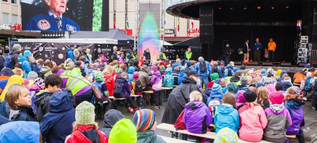 How inspiring are science festivals?