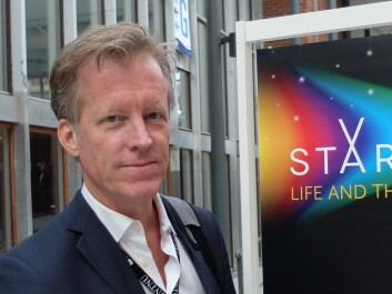 Curt Rice, rector at the Oslo and Akershus University College of Applied Sciences, was in attendance at Trondheim Spektrum during the Starmus Festival. (Photo: Eivind Torgersen)