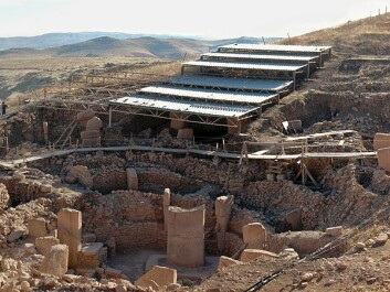 View of site and excavation at Göbekli Tepe (Photo: Wikimedia Commons)