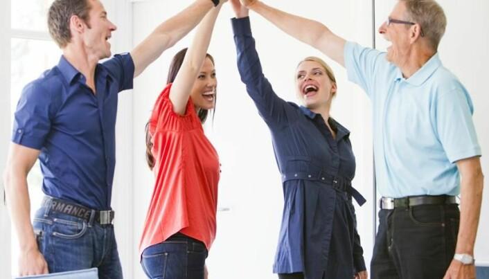 What creates success at work