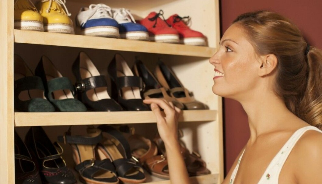 If you want to be left undisturbed by salespeople while shopping in Norway, go to a shoe store, a new survey shows. Of course that's not good news for the storeowner, since the better service a customer gets, the more likely he or she is to buy something. (Photo: colorbox)