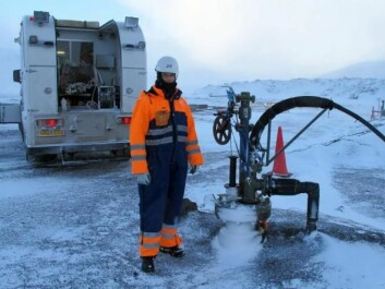 "The technology for carbon capture and storage has been demonstrated, such as <a href=http://sciencenordic.com/pumping-co2-volcanic-rock-transforms-it-limestone-record-time target=""_blank"">this project in Iceland</a>. Scientists are pumping carbon dioxide into basaltic rocks where it is converted to limestone within two years. But can such technology be scaled up to make a difference to global carbon emissions? (Photo: Sigurdur Gislason)"