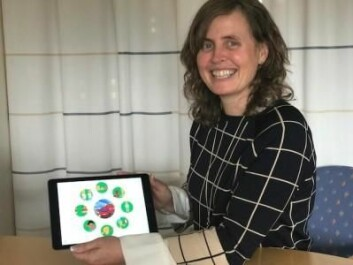 Kari-Anne Bottegaard Næss at the University of Oslo is leading a major project to measure the impact of language stimulation on children with Down syndrome and their classmates. The researchers have developed an app as part of the project. (Photo: Siw Ellen Jakobsen)