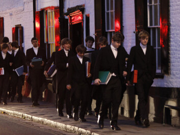 Boys at Eton attend classes together, live together and spend their free time together. They develop a distinctive way of living, researchers say. (Photo: Eddie Keogh/Reuters/NTB Scanpix)