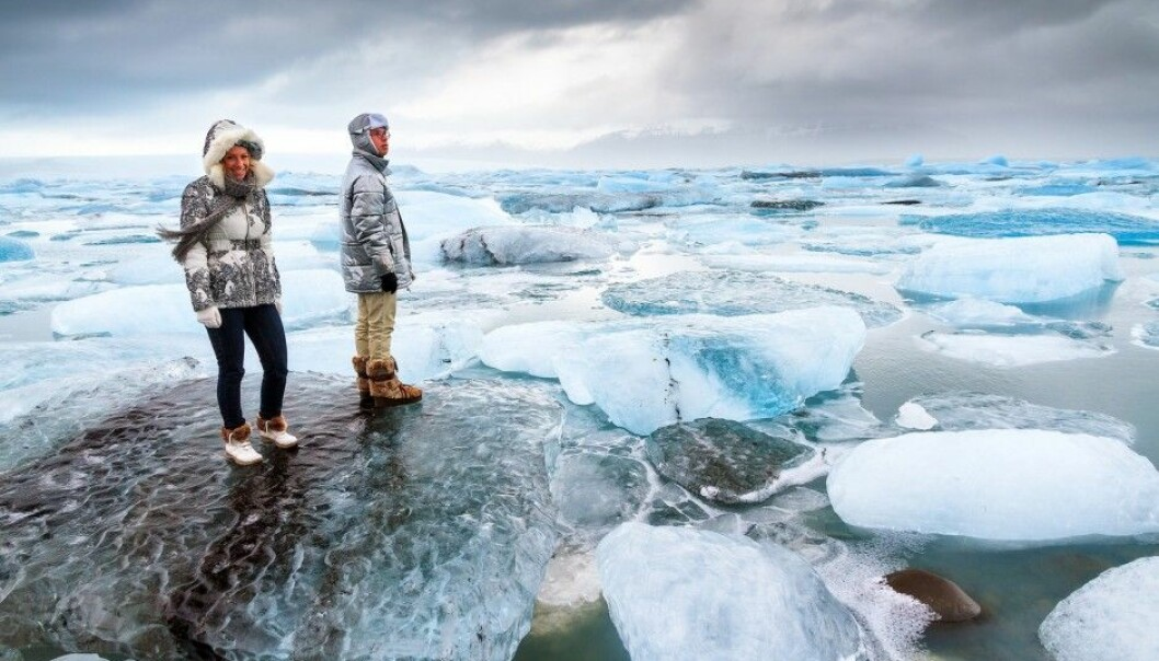 Sure, the colder places on the planet are often scenic, like here at Jökulsárlón in Iceland. But do subpolar people pay a price for living in cold climates? (Photo: Dennis van de Water / Shutterstock / NTB scanpix)