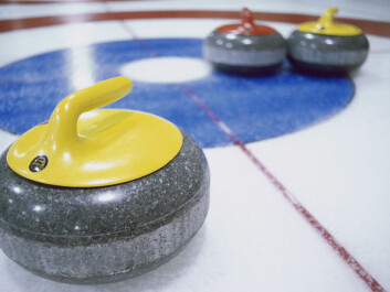 Curling – the safest winter sport? (Photo: Colourbox)