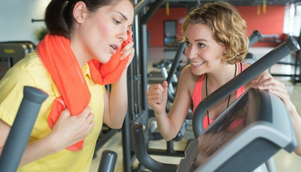 It can be hard to estimate one's aerobic fitness when exercising is a rare or off-and-on part of an otherwise sedate life. (Illustrative photo: Colourbox)