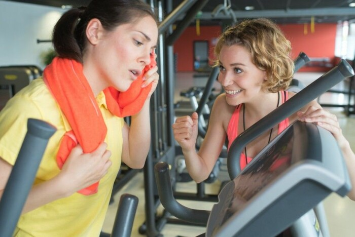 Out of shape gym users overrate their fitness