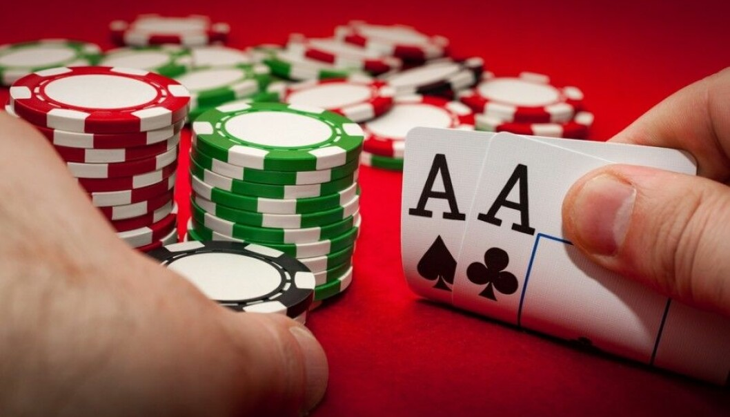 About ten per cent of men ages 18 to 35 play online poker, according to researcher Niri Talberg. And they're especially young men with good grades in secondary school. (Photo: Victor Moussa / Shutterstock / NTB scanpix)
