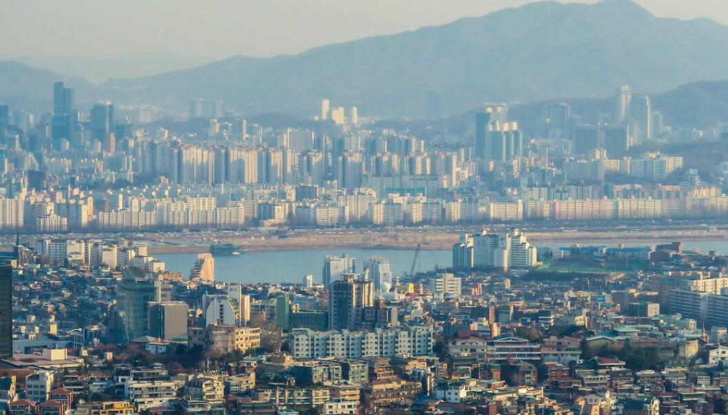 Seoul, South Korea, leads the world in its global carbon footprint, according to a new study that ranks 13,000 cities globally based on their carbon footprints. But the researchers say the finding gives power to mayors and local governments to do something to reduce their footprints. (Photo: Colourbox)