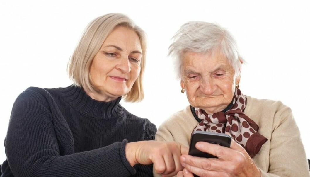 Older people are among those who may have problems with the technology behind personalized medicine. (Photo: Shutterstock/NTB scanpix)