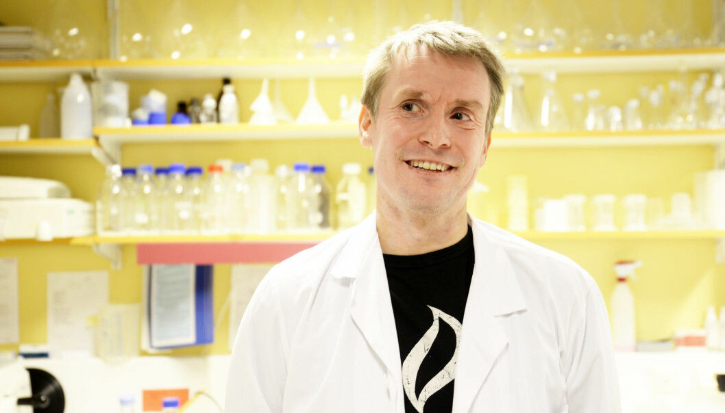 Cancer researcher Tom Dønnem and colleagues have struggled to publish results that go against an established truth in cancer research. He believes that the many cancer patients should be offered a new treatment strategy based on this change in understanding. (Photo: Rune Stoltz Bertinussen, Krysspress)