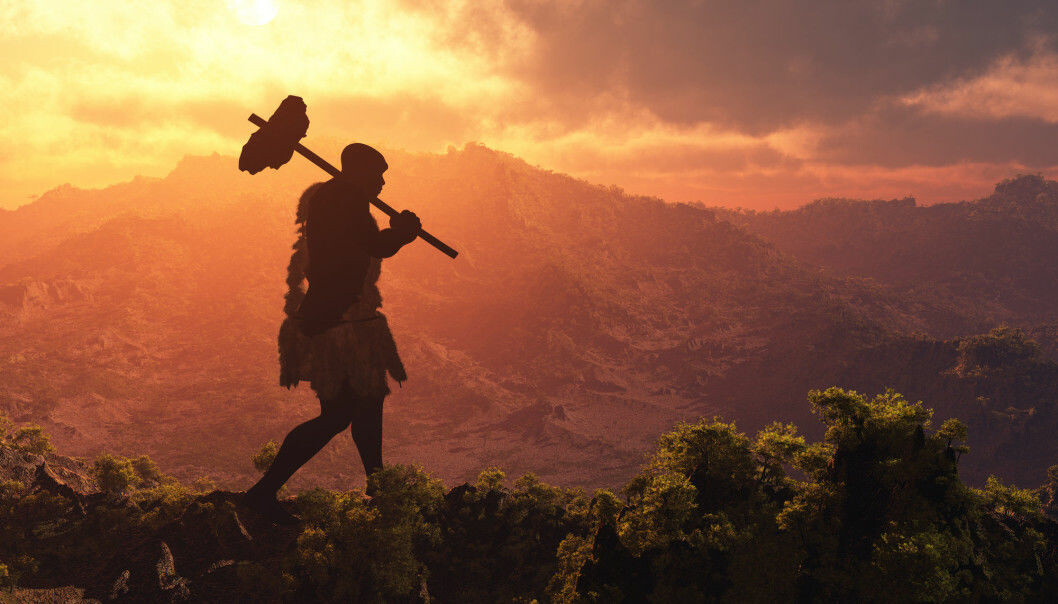 Our human ancestors were terrible when it came to the environment. It's an essential part of who we are, even today. (Illustration photo: Shutterstock/NTB scanpix)