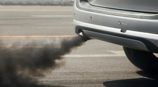 What are the links between exhaust fumes and heart disease?