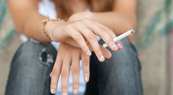 More children in Europe have started smoking