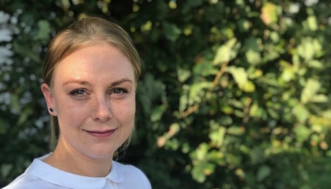 """""""I met men who were courteous and attentive and concerned about mutual respect,"""" said master's student Siri Høyem Kristiansen of the rebel fighters she talked to in Norwegian prisons. (Photo: Siw Ellen Jakobsen)"""