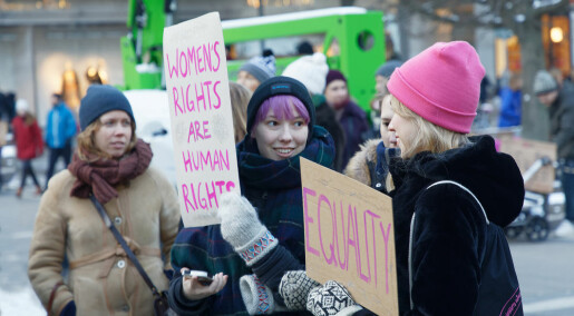 Research on sexual harassment: Norway close behind Sweden
