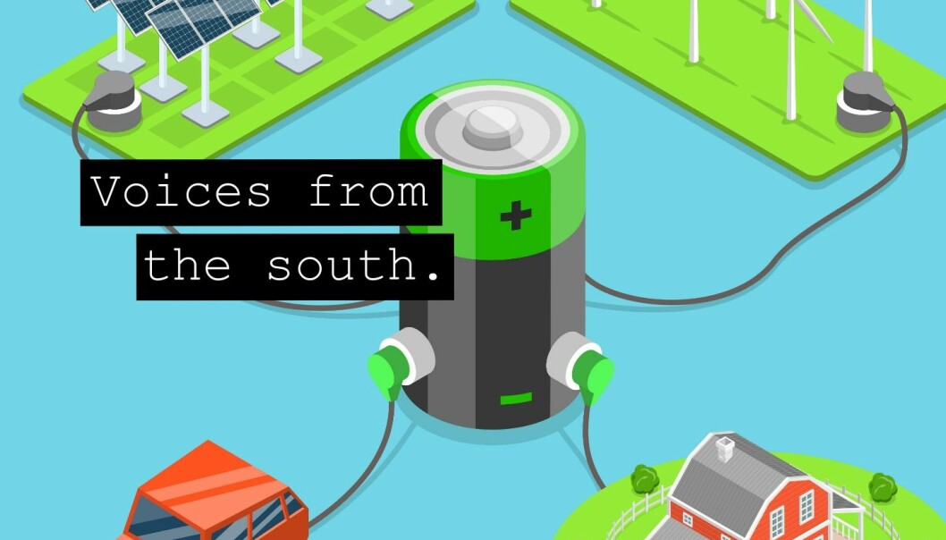 Producing electric-powered items requires batteries, and this requires vast amounts of minerals, in particular, lithium. (Illustration: ScienceNordic)