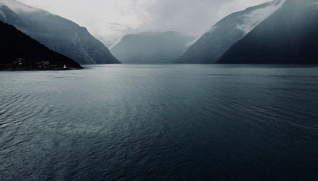 Sognefjord, which at 1,300 metres in depth is the deepest fjord in Norway. (Photo: Bård Amundsen)