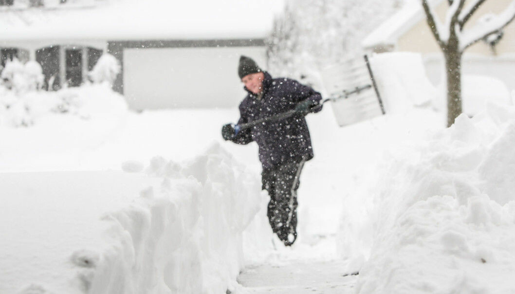 Does the wind and cold increase the risk of heart attack? Or does the weather make us do things that cause heart attacks, such as shovel snow? (Photo: Shutterstock)