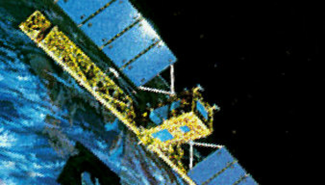 Radarsat-1 (Illustration: NASA, Wikimedia Commons)