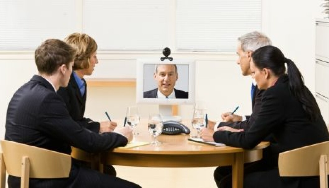 Virtual collaboration via Internet is becoming increasingly common. (Photo: Shutterstock)