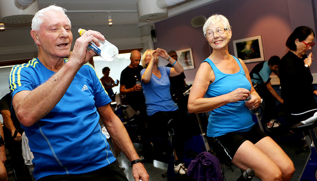 Researchers now know more about the types of exercise that older adults tend to prefer and the factors that increase the risk of dropping out of an exercise programme. (Photo: Andrea Hegdahl Tiltnes, NTNU)