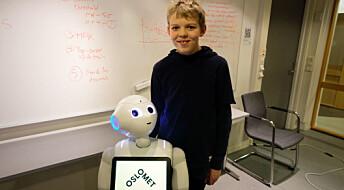 Researcher wants to teach children to program robots