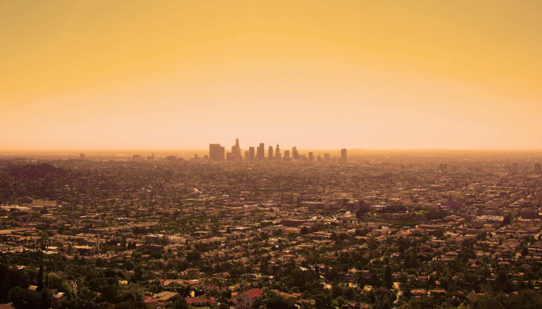 The frequency and intensity of heatwaves are expected to increase with rising global mean temperatures. (Photo of Los Angeles: Kathrine Torday Gulden)