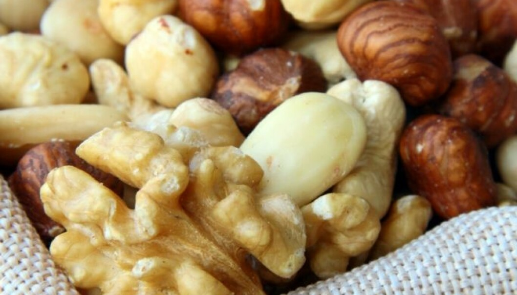 For adults, most food allergy reactions are associated with nuts, hazelnuts in particular, and peanuts. (Photo: Colourbox)