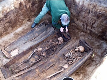 There is a lot of information about our past that is buried with our ancestors' remains. (Photo: Asgeir Svestad)