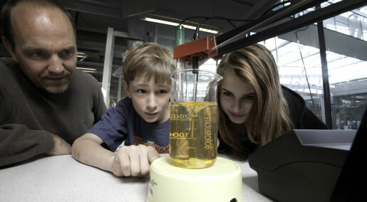 Passion for science begins with inquiry