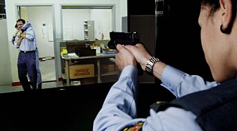 Police learn how to shoot in cyberspace