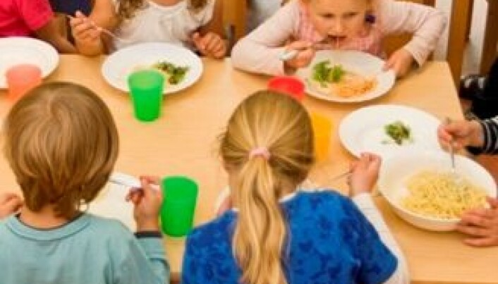Healthier food for day care children