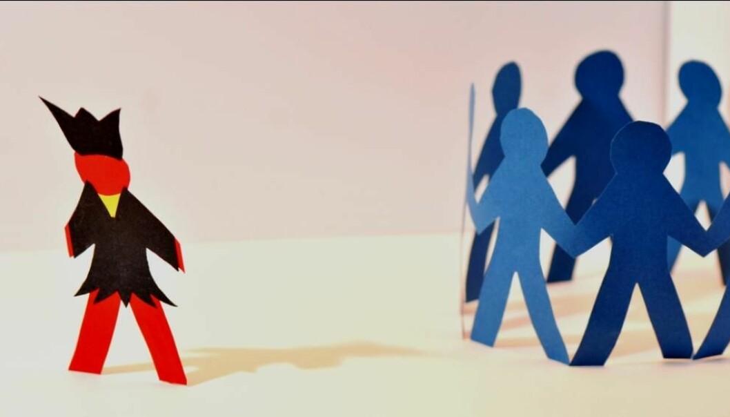 The Sami report being bullied twice as often as the Norwegian majority (Illustration: Ketil Lenert Hansen, Center for Sami Health Research)