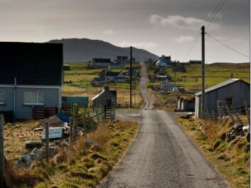 Siabost village lies in the Outer Hebrides, off the west coast of Scotland. Many of the place names in this area end in -bost, which comes from the Old Norse bolster∂r, or residence. (Photo: Blue Sky 4691/Flickr)