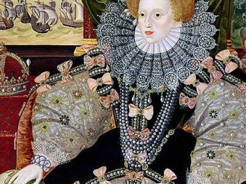 Queen Elizabeth I of England covered her smallpox scars, or pockmarks, with a thick coat of makeup powder. (Photo: Wikimedia Creative Commons)