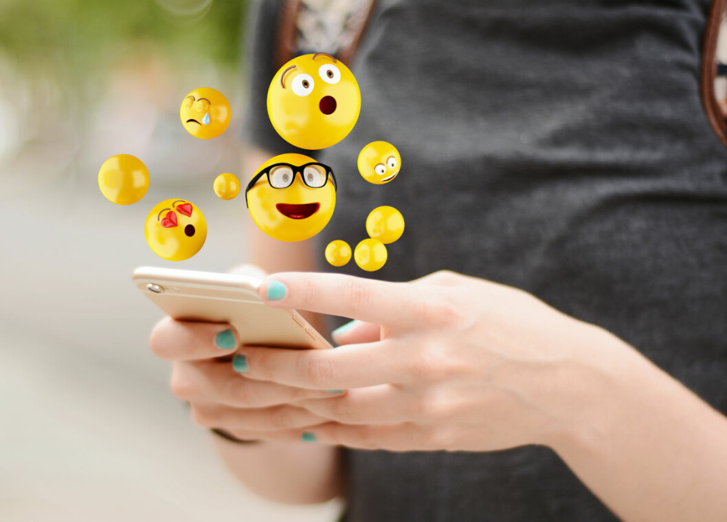 Uses of emojis show how positive or negative twitter users are to the disease. (Photo: Colourbox)