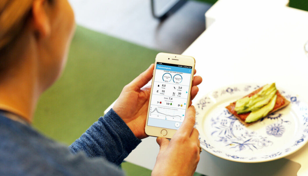 The goal of the Diabetes Diary app is to help patients with diabetes control their disease better. (Photo: Jarl-Stian Olsen)
