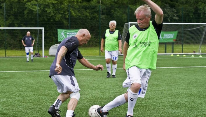 Professors with advice to inactive people: Football is good for your health
