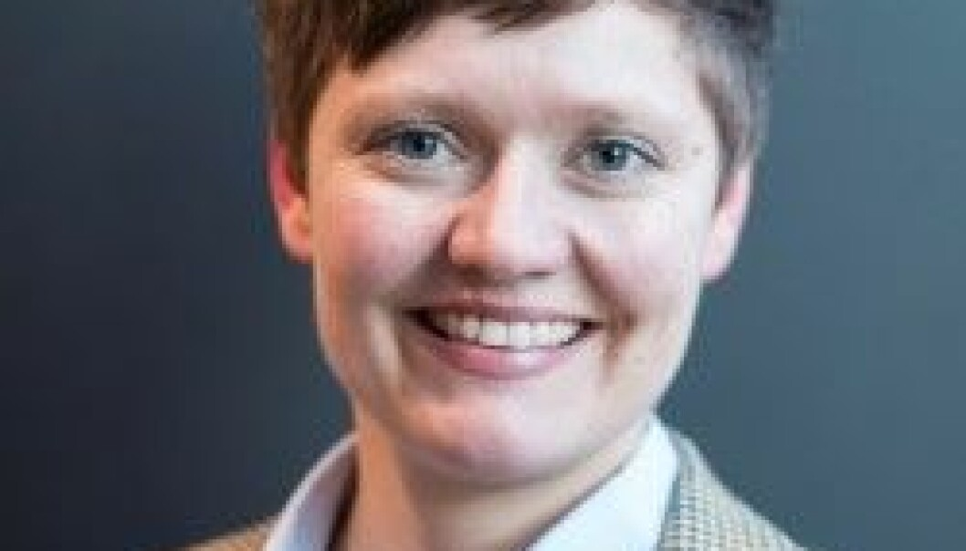 Helga Eggebø, researcher II at Nordland Research Institute, considers the report form ISF as an important contribution to the research on living conditions and experiences with discrimination among LGBT people. (Photo: KUN)