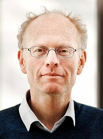 """""""What we're really looking for is an extension of the standard model,"""" says Jens Oluf Andersen. (Photo: NTNU)"""
