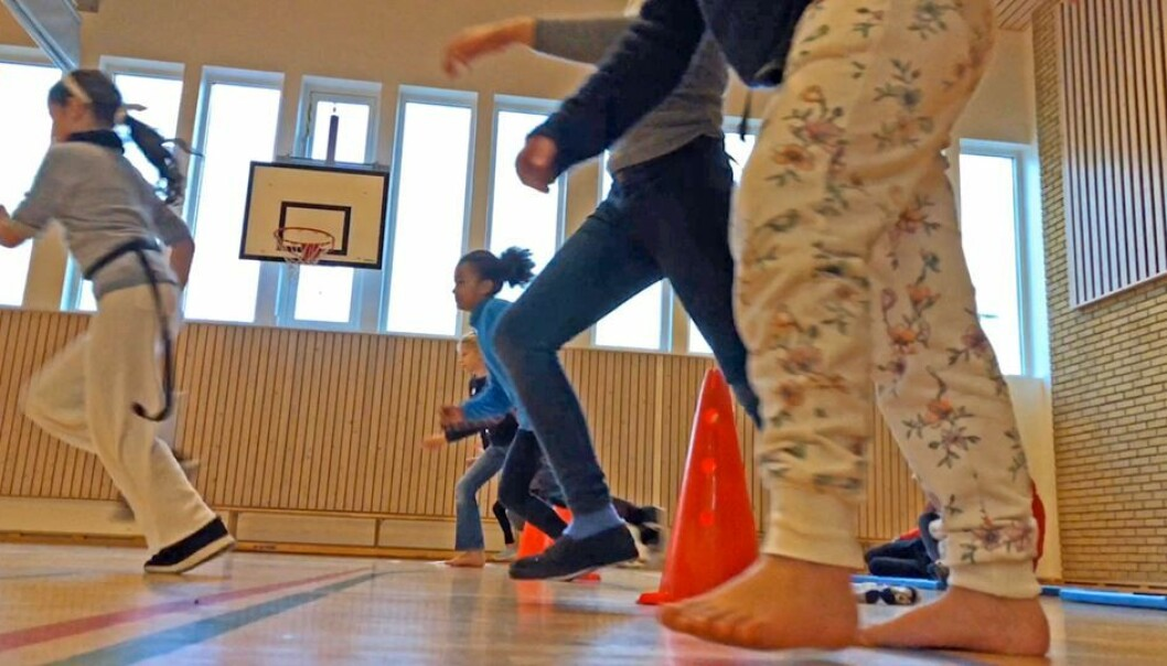 """The """"UngKan3"""" survey shows that some kids move less than they did previously. (Photo: Kjetil Grude Flekkøy)"""